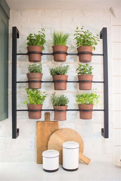 Wall Mounted Herb Planter by 25 Best Ideas About Herb Wall On Indoor