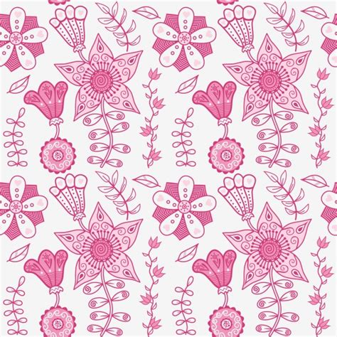 pink pattern vector free download pink floral pattern design vector free download