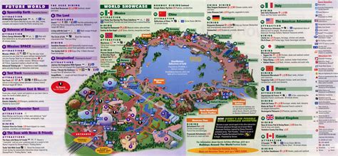 printable map epcot epcot quotes like success