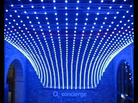 mesh lights 3d led mesh the o2 dublin