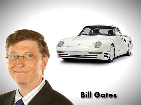 Bill Gates Porsche Billionaire S Cars Bill Gates Ambanis Tata