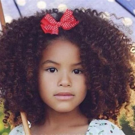 mixed girl hairstyles curly cute mixed little girl precious pinterest