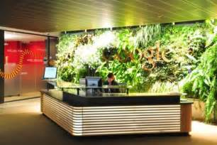 Google Office Sydney by Google S Front Desk In Sydney Australia Living Walls