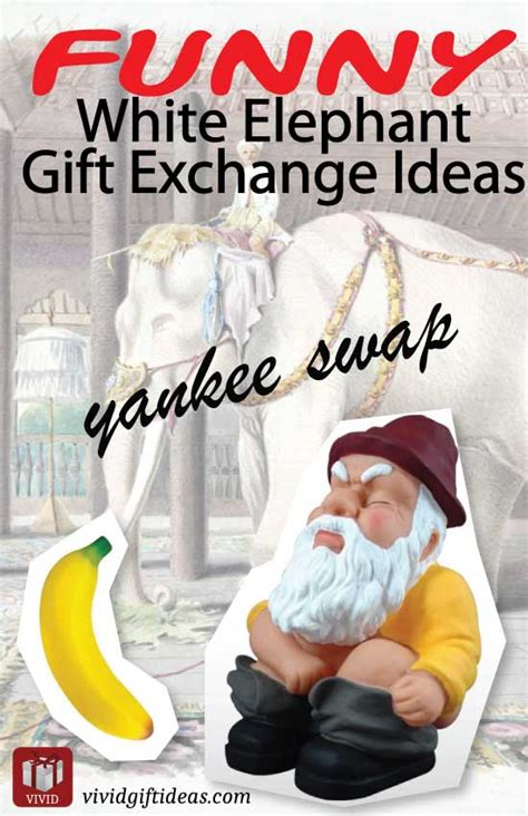 Wedding Gift Exchange Ideas by Unique White Elephant Gift Exchange Ideas S