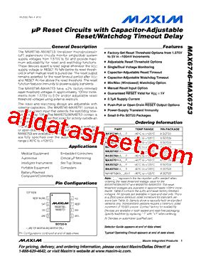 maxim integrated products netherlands b v max6753ka v t datasheet pdf maxim integrated products