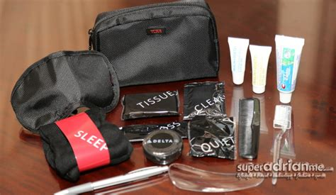 Tumi Travel Kits From Delta delta airlines enhanced businesselite amenity kit