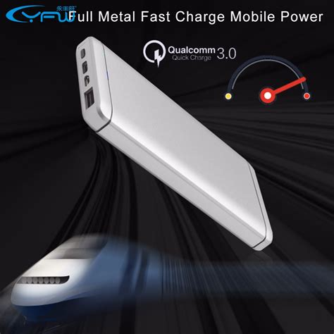 Hippo Power Bank Support Fast Charging 3 0 9000 Mah yfw charge 3 0 power bank 10000mah portable external battery qc 3 0 fast charging usb type