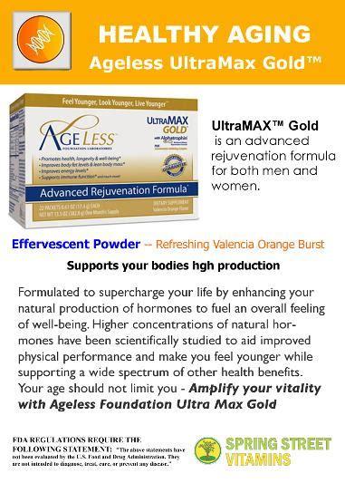ageless ultramax gold side effects ageless ultramax gold powder