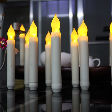 Battery Operated Candles Not Working 6pcs lot yellow flicker battery operated candles ivory