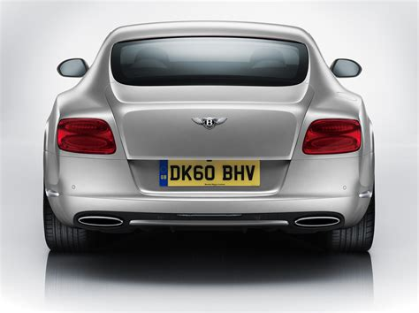 black bentley back bentley reveals 2011 continental gt sleeker faster