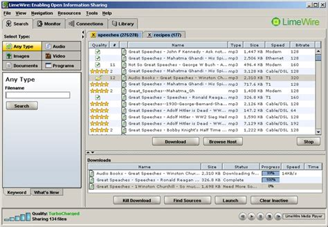 free full version limewire download lime wire 2008 4 18 8 freeware download