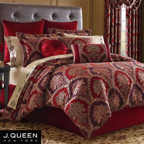 j queen comforters sauvignon damask comforter bedding by j queen new york