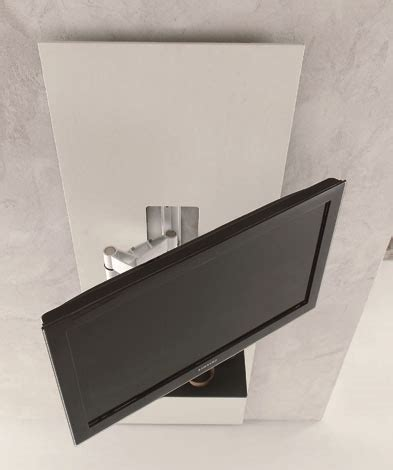 porta tv a muro con mensola porta tv in cristallo lui arredamenti