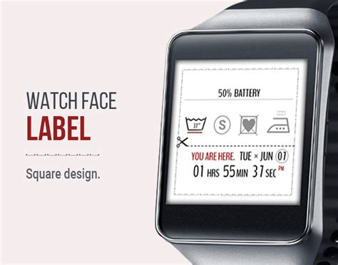 label design android clothing label watch face android apps on google play