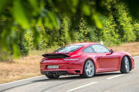 drift porsche on the road in the 2017 porsche 911 carrera s