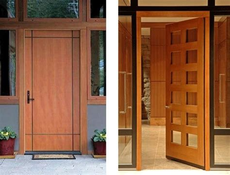 contemporary door designs from stilewood contemporist