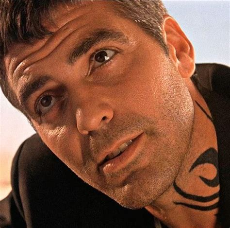 george clooney tattoo george clooney as seth gecko with the from dusk till