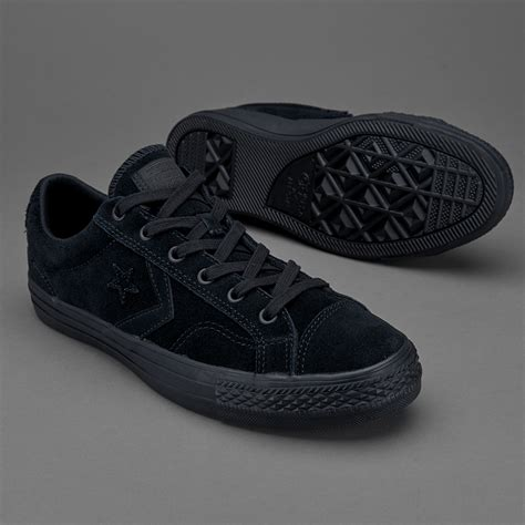 Harga Converse Player sepatu sneakers converse cons player ox black