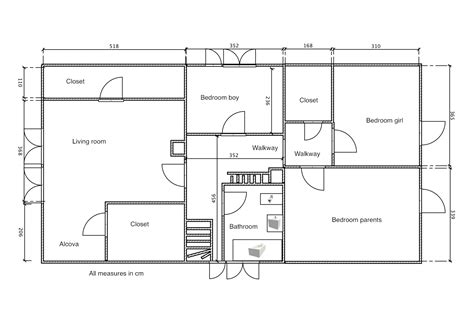 Make A House Floor Plan by Draw Floor Plans Draw My Own Floor Plans Make Your Own