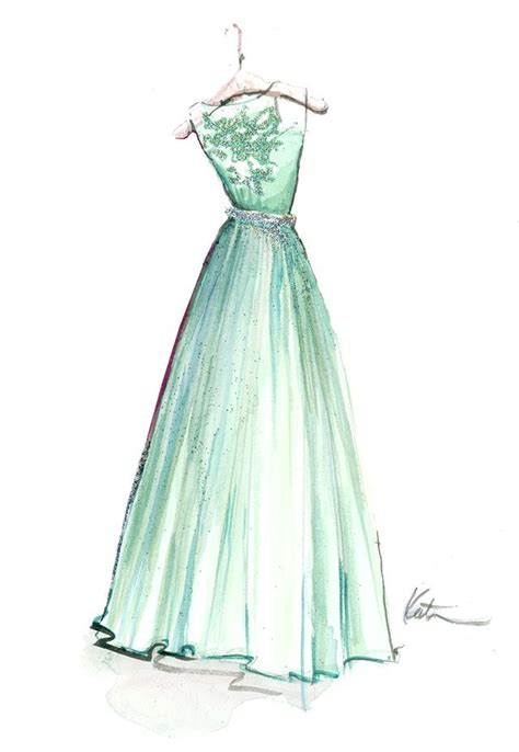 Drawing Dresses by Nothin Better Than A Carolina Crafting Fashion