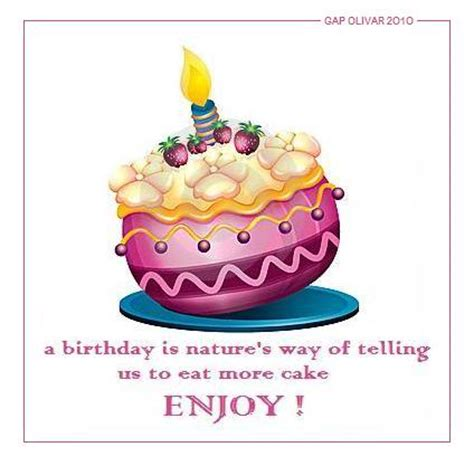 Birthday Quotes With Cake Birthday Quotes Ideas With Images
