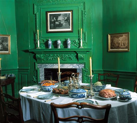 Mount Vernon Dining Room by Branch Historic House And Farm They Did What To The