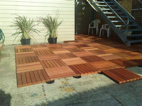 How To Install A Patio Cover Deck Tile Gallery Northern Rivers Recycled Timber