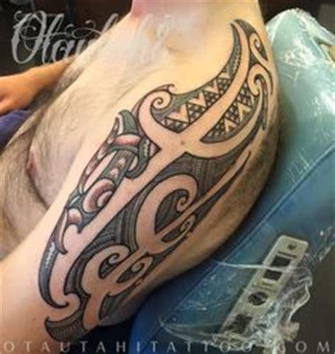 henna tattoos queenstown chest tamoko with kaitiaki manaia tupara tamoko