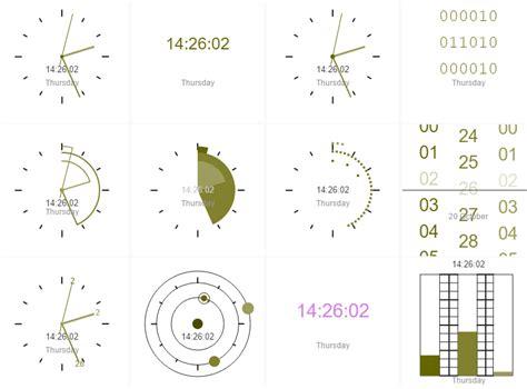 javascript canvas layout canvas based clock javascript library canvasclock css