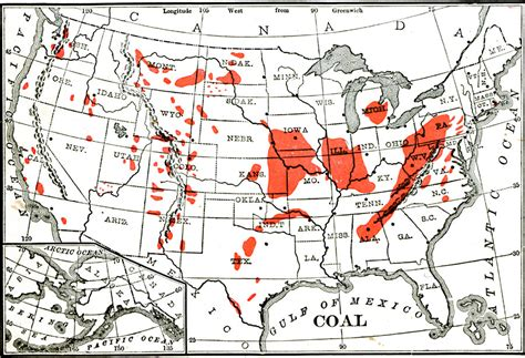 coal mines in texas map coal us occidental dissent