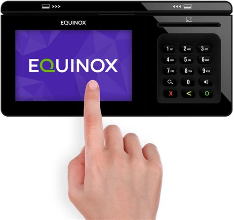 Smartwatch Equinox luxe 8000i retail payment terminal by equinox