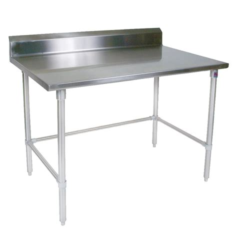 Blouse Jumbo Napoli Ld 120 boos st4r5 24120gbk 120 quot 14 ga work table w open base 300 series stainless top 5