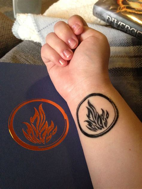 think tattoo didn t think someone would already a divergent