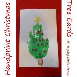 handprint christmas tree cards tutorialreacher reviews
