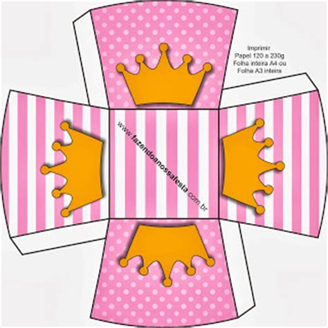 Dress Rdg 019 princess crowns free printable boxes oh my in