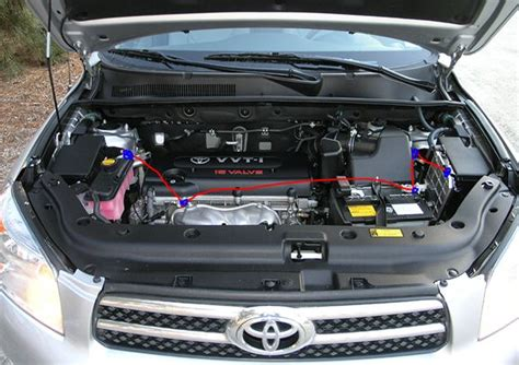 Toyota Rav4 Burning Toyota Rav4 2006 V6 4 Coils Failed In One Year