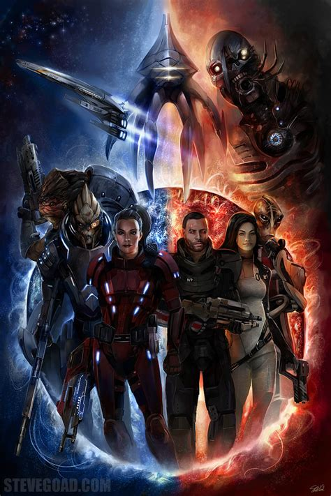art of mass effect 1506700756 commission mass effect 2 by stevegoad on