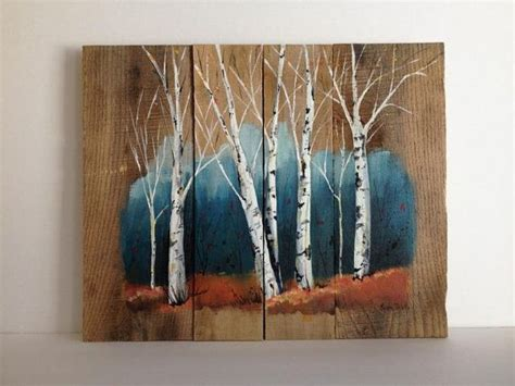 acrylic paint on wood pallet painting distressed wood pallet от