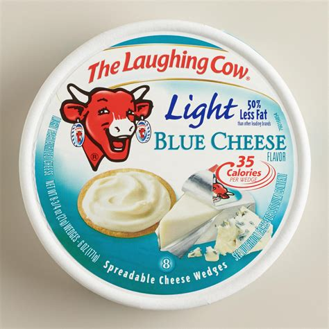 Laughing Cow Light Blue Cheese Set Of 6 Market