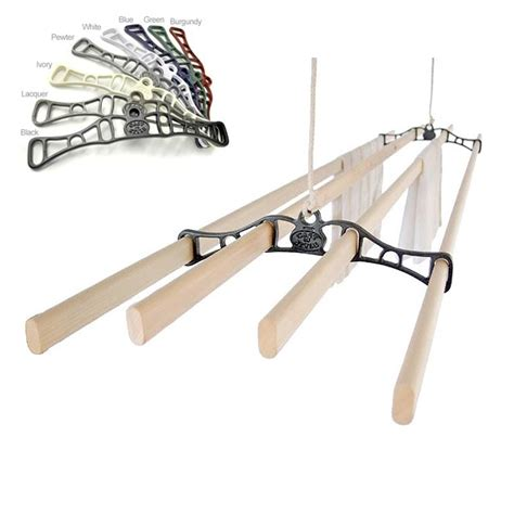 Wall Mounted Expandable Clothes Drying Rack by Wall Mounted Wooden Expandable Clothes Drying Rack Clotheslines