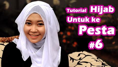 tutorial dandan ke pesta tutorial hijab untuk pesta 6