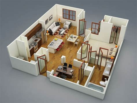 4d home design software แปลนบ านหน งห องนอน 171 บ านไอเด ย เว บไซต เพ อบ านค ณ