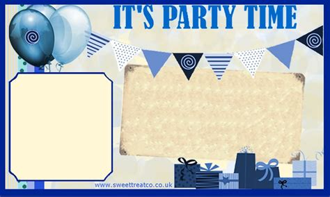 7 best images of boy birthday printable invitation