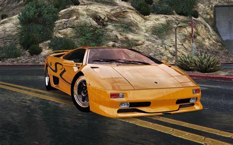 Lamborghini Diablo SV 1997 [Add On / Replace   Template