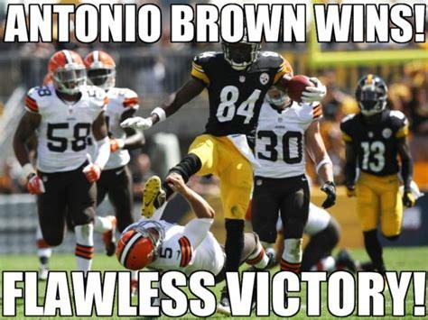 Antonio Brown Meme - wrong sport antonio antonio brown s karate kick know