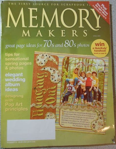 Digital Issue Of Quilting Marchapril 2005 25 best images about owned monthly memory makers magazine
