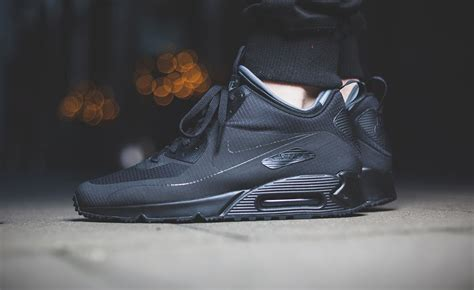 the nike air max 90 mid receives a stealthy update kicksonfire
