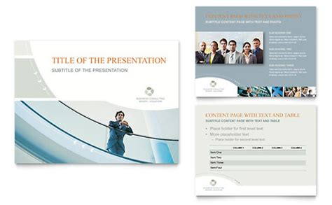 Business Consulting Brochure Template Word Publisher Consulting Brochure Template