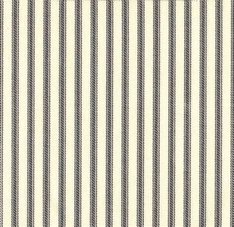 ticking stripe shower curtain 84 quot french country ticking stripe brindle gray fabric