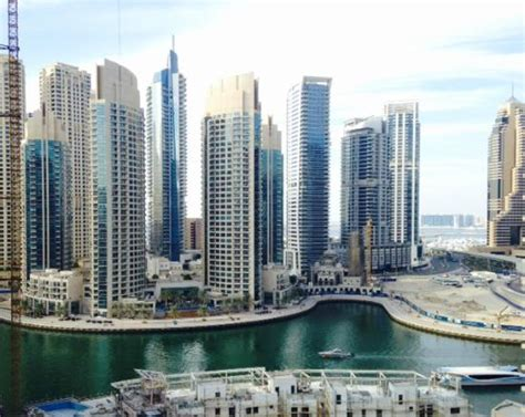 marina hotel appartments view of dubai marina from top floor room 1305 picture of